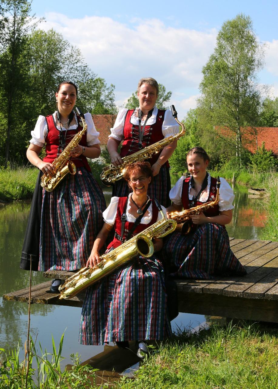 Die Saxophone der Musikkapelle Honsolgen e.V.