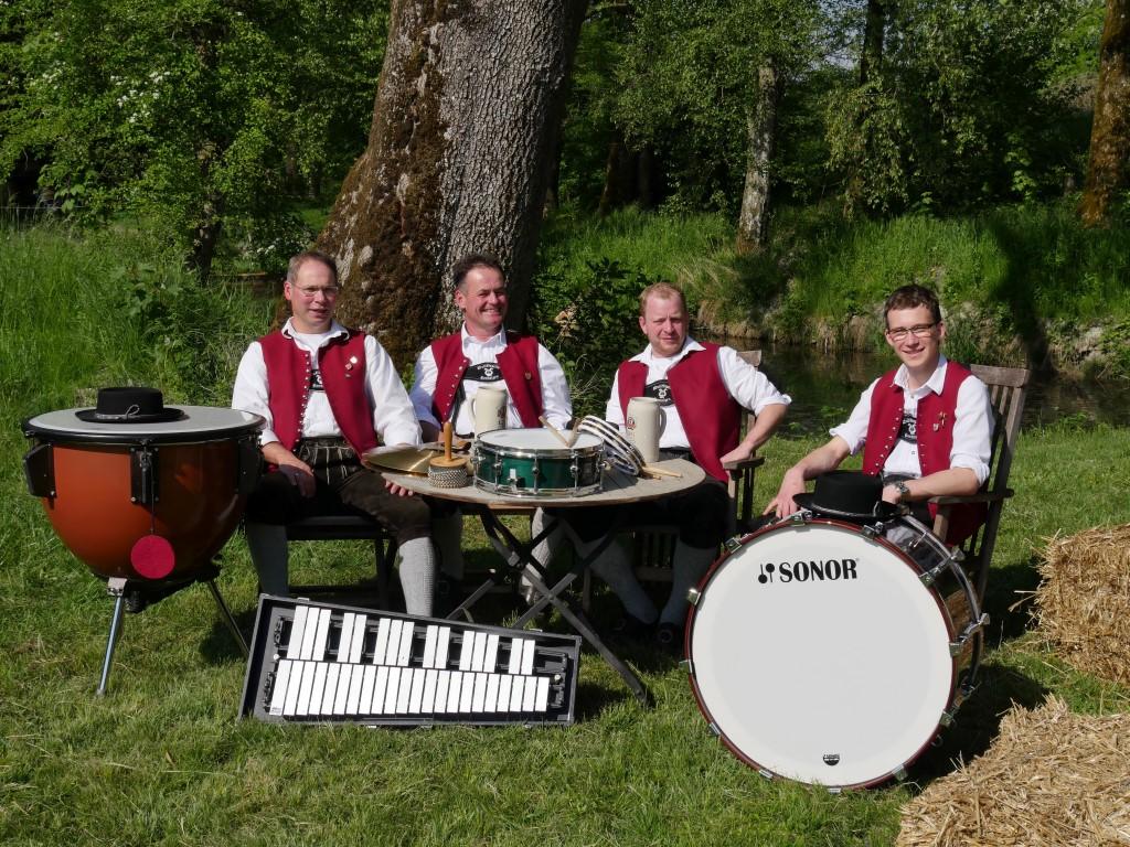 Die Schlagzeuger der Musikkapelle Honsolgen e.V.