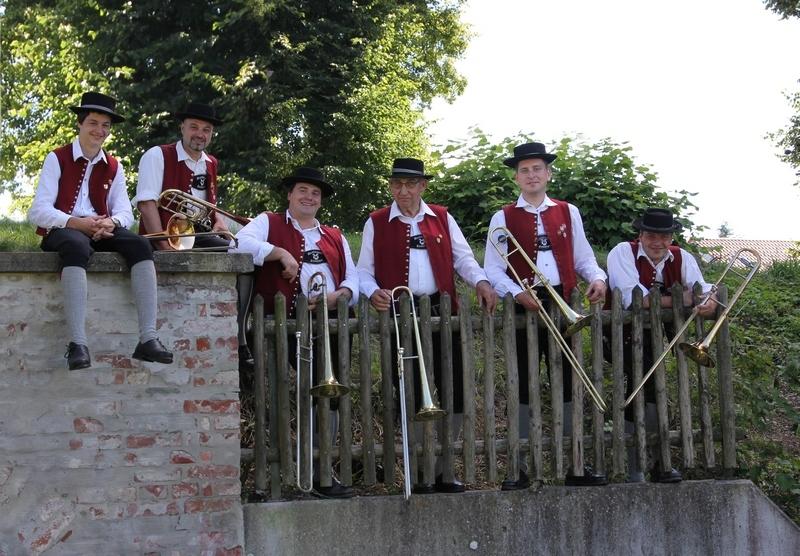Posaunen: Max Sirch, Reinhold Frei, Franz-Xaver Lang, Karl Klotz, Johannes Jäger, Johann Lang